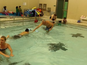 Zionsville Aquatic Masters teaches adults to swim.